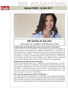 Gala Article sur le Dr Rajaonarovelo - Mai 2017