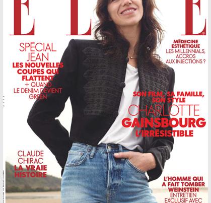 Revue de presse Une Elle